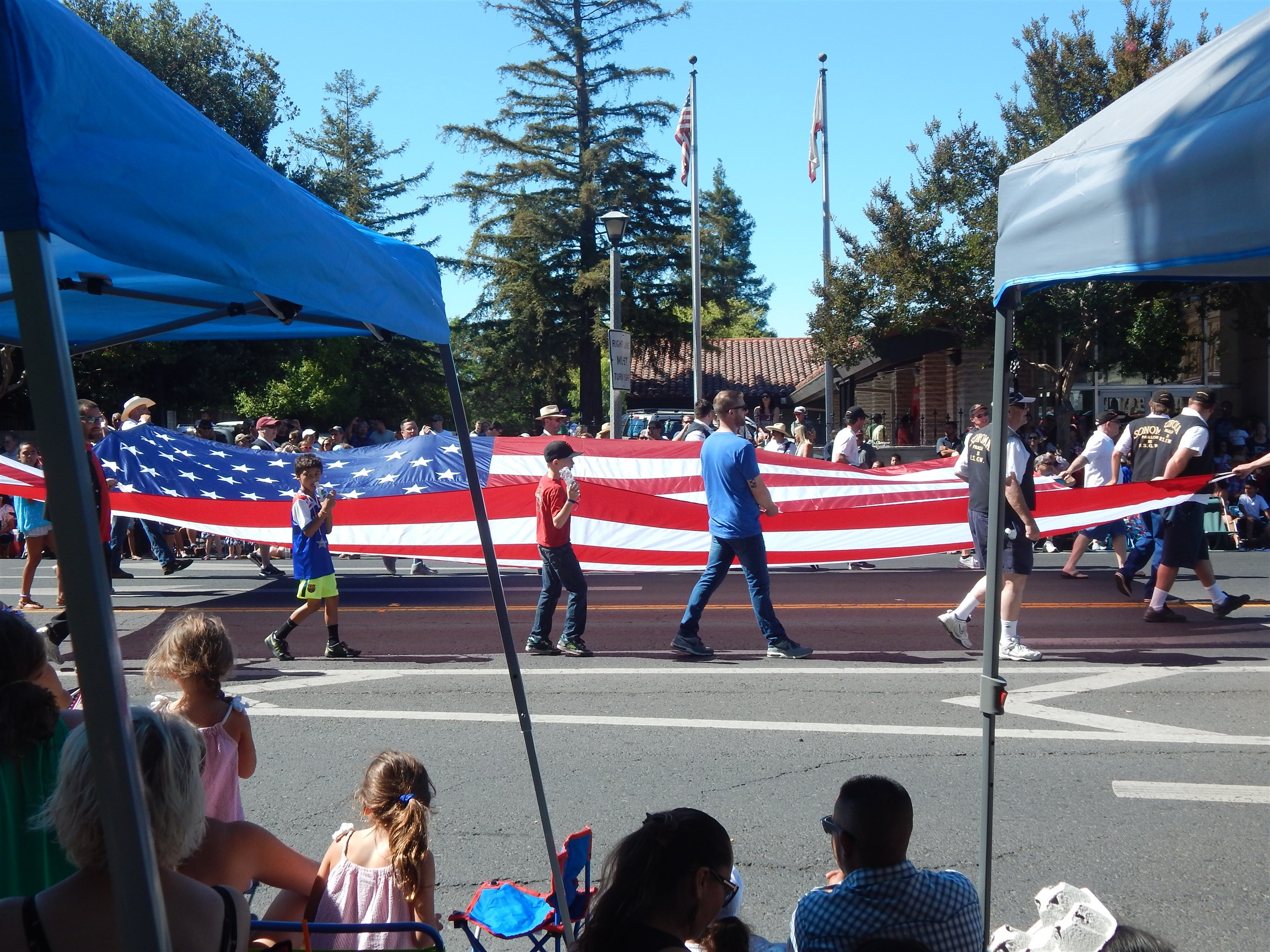 Fourth of July Celebration in Bay Area