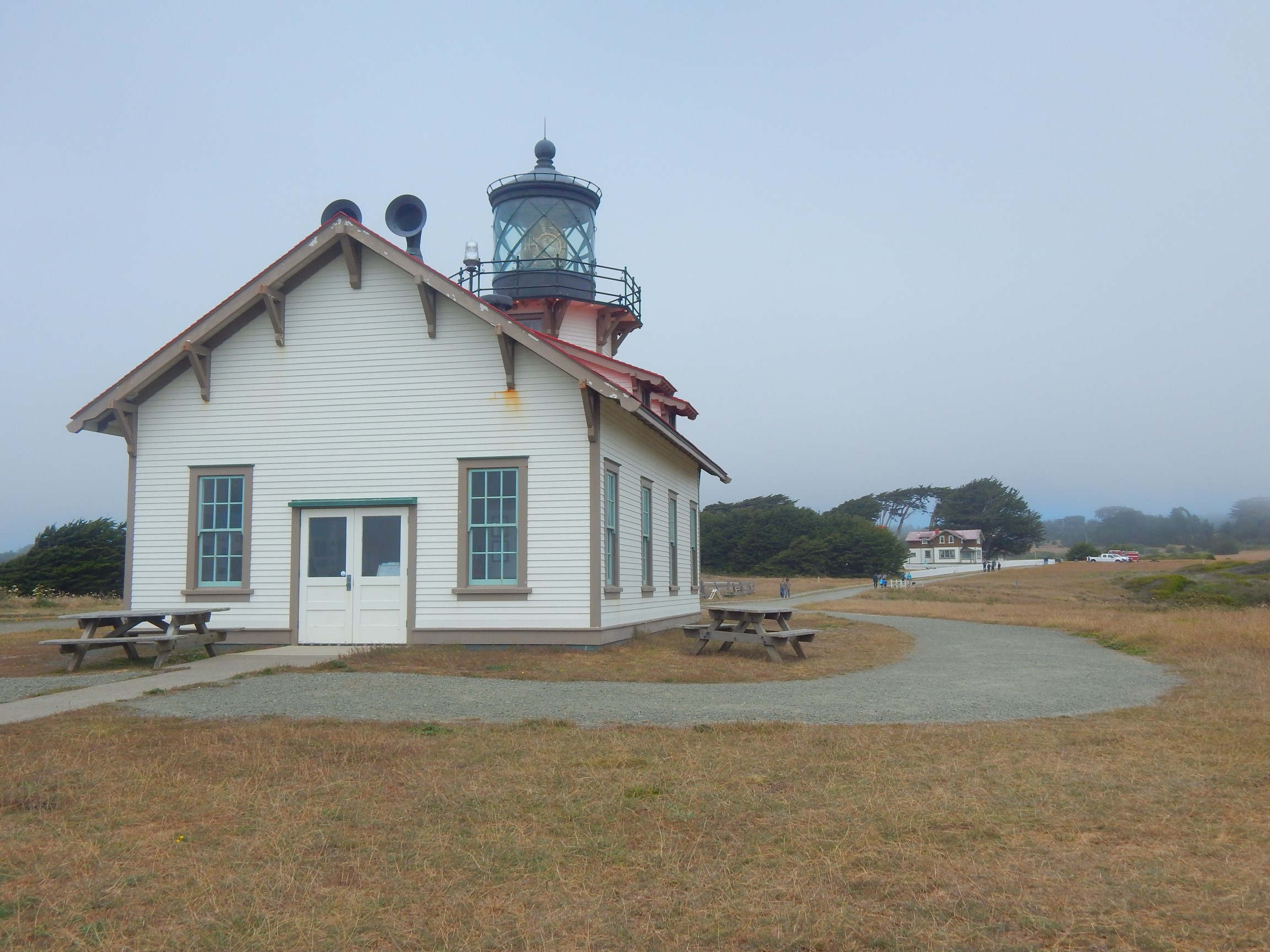 Point Carrillo Light House in Mendocino