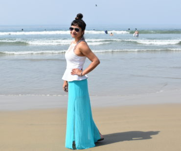 Fashion Vibes on the Beach!